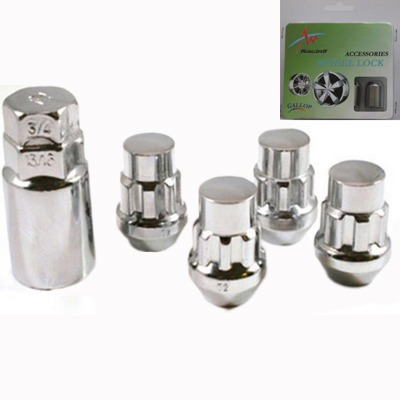 Chrome (Tapered Acorn) Lock Nuts